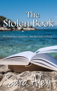 The Stolen Book Sara Alexi Greek Village Series